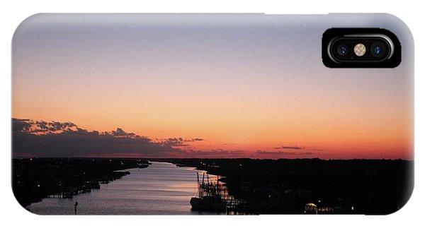 Waterway Sunset #1 IPhone Case