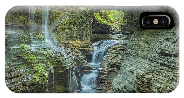 IPhone Case featuring the photograph Watkins Glen 07 Panorama by Jim Dollar