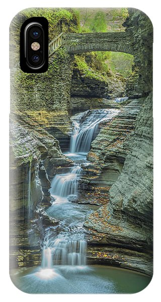 IPhone Case featuring the photograph Watkins Glen 08 Panorama by Jim Dollar