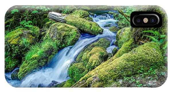 Watson Creek Falls Oregon IPhone Case