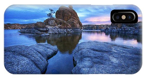 Watson Lake Arizona 4 IPhone Case