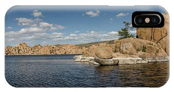 Watson Lake Panorama IPhone Case