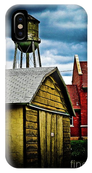 Waurika Old Buildings IPhone Case