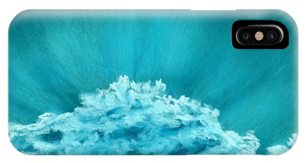 Wave Cloud - Sky And Clouds Collection IPhone Case