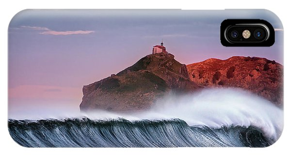 Wave In Bakio IPhone Case