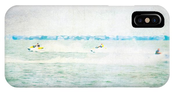 Jet Ski iPhone Case - Wave Runners by Colleen Kammerer