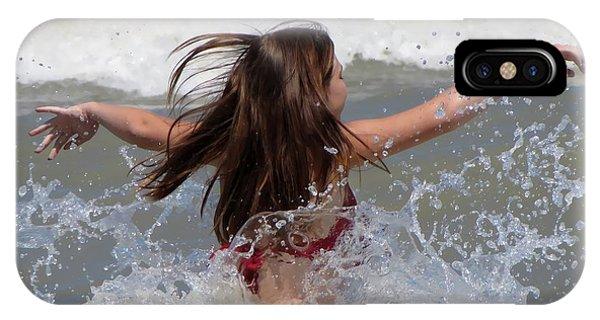 Wave Splash IPhone Case