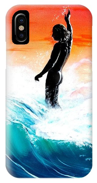 Wave Walk IPhone Case