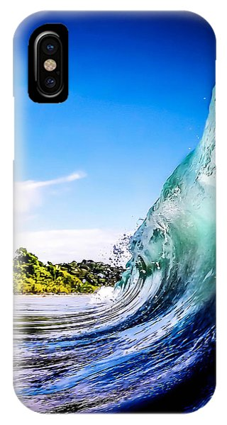 Waves iPhone Case - Wave Wall by Nicklas Gustafsson