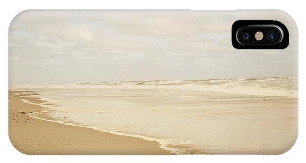Waves Along The Shoreline IPhone Case