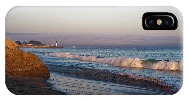 Waves At Santa Cruz IPhone Case