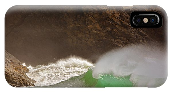 Waves At Waikiki IPhone Case