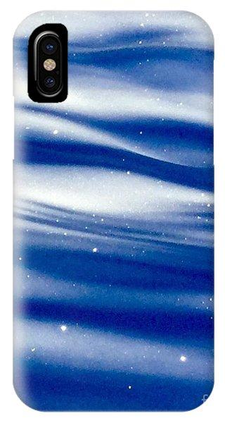 Waves Of Diamonds IPhone Case