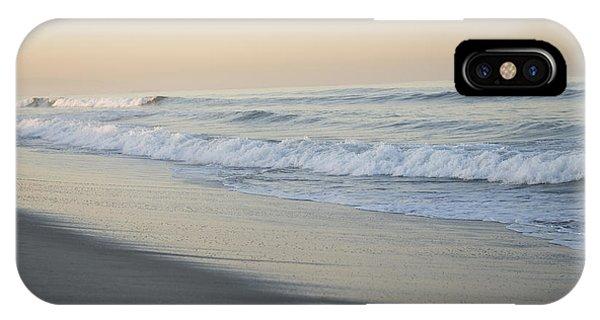 Venice Beach iPhone Case - Waves Splash Onto A Beach In Venice by Joel Sartore