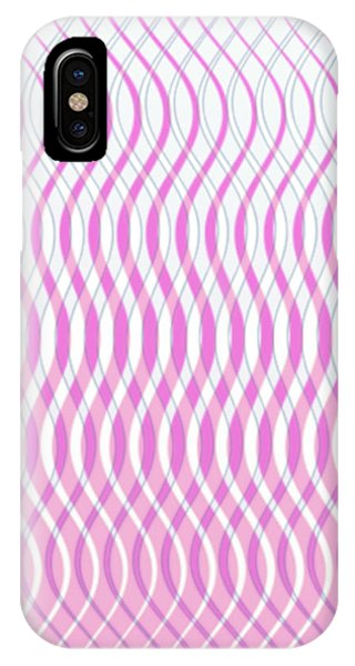 Wavy Stripes IPhone Case