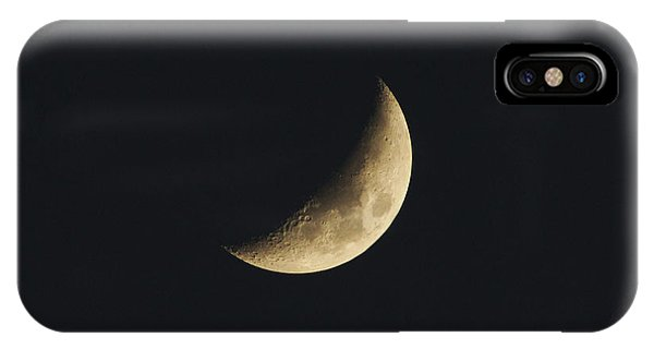 IPhone Case featuring the photograph Waxing Crescent Spring 2017 by Jason Coward