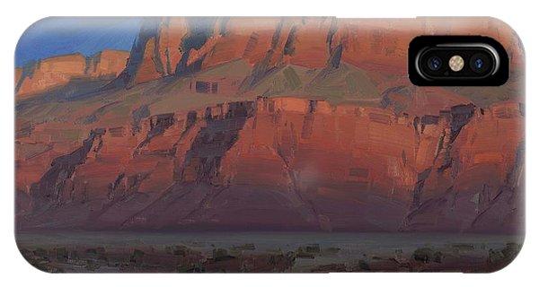 Arizona iPhone Case - Waxing Moon by Cody DeLong