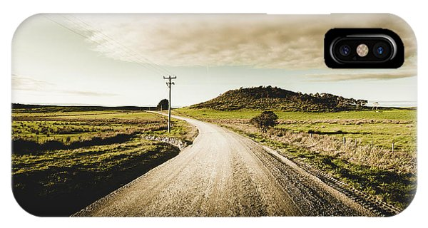 Rural iPhone Case - Way Out Yonder by Jorgo Photography - Wall Art Gallery