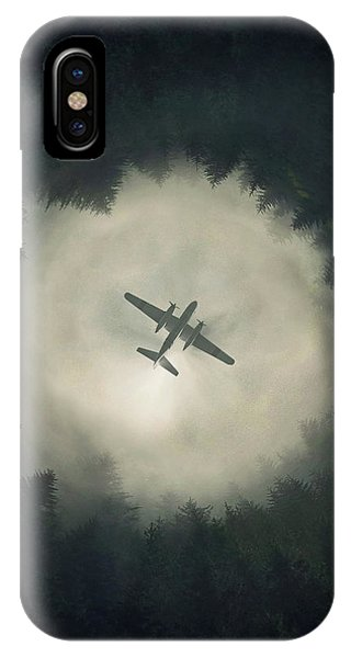 Airplane iPhone Case - Way Out by Zoltan Toth
