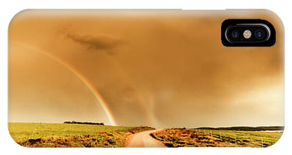 View Point iPhone Case - Way Outback by Jorgo Photography - Wall Art Gallery