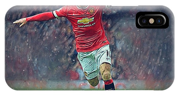 Wayne Rooney iPhone Case - Wayne Rooney by Semih Yurdabak