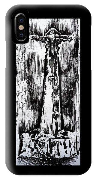 Wayside Cross IPhone Case