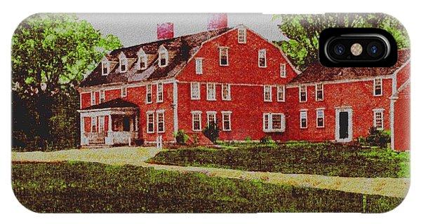Wayside Inn 1875 IPhone Case