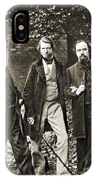 Pre-modern iPhone Case - W.b. Scott, John Ruskin, Dante Gabriel by Wellcome Images