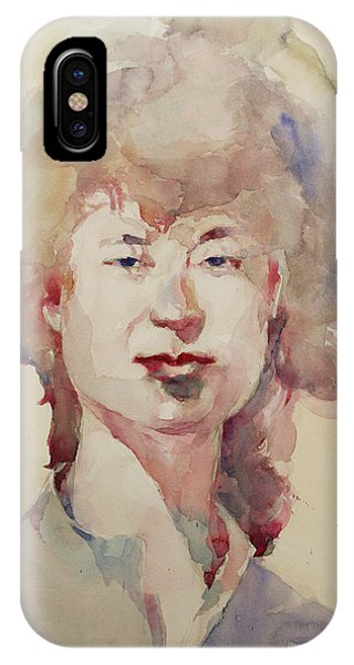 Wc Portrait 1626 My Sister Eunja IPhone Case