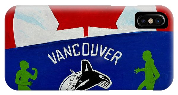 We Are All Canucks IPhone Case