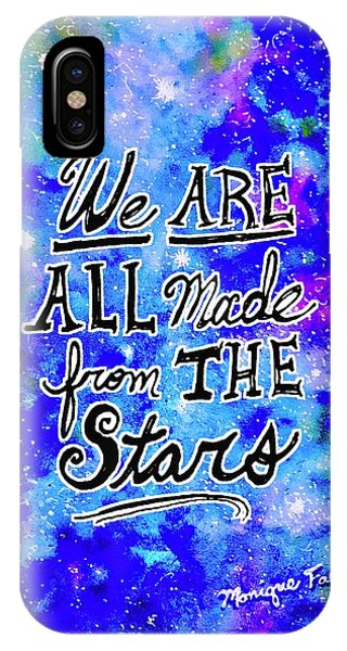 We Are All Made From The Stars IPhone Case
