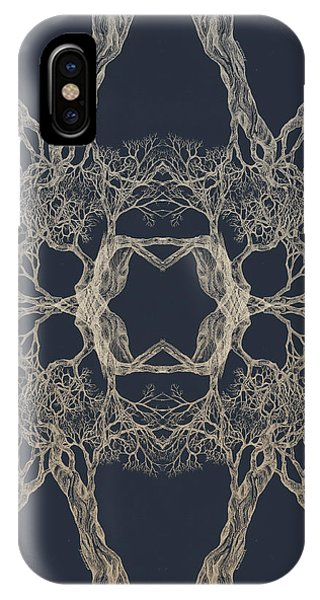 We Are All Made Of Stars Tree 12 Hybrid 1 IPhone Case