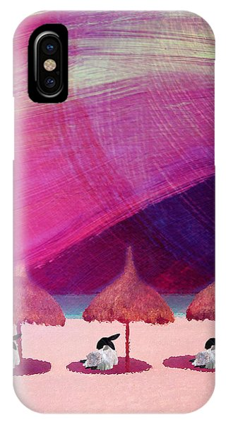 We Are But Sheep On The Beach IPhone Case