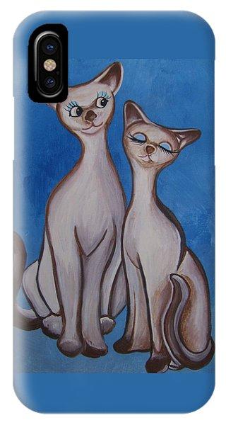 We Are Siamese IPhone Case