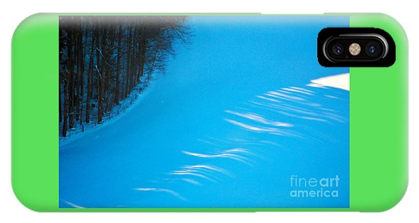 We Got The Blues - Winter In Switzerland IPhone Case