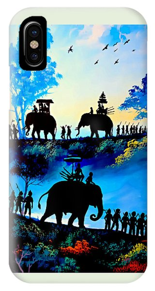 We March At Sunrise  IPhone Case