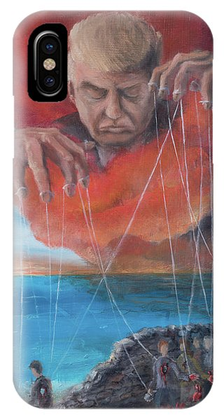 IPhone Case featuring the painting We Traded Our Hearts For Stones by Break The Silhouette