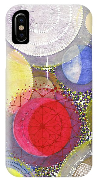 IPhone Case featuring the painting We Will Have Many Moons #2 by Kym Nicolas