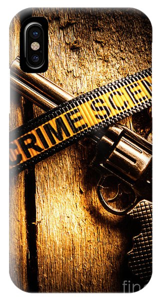 Shooting iPhone Case - Weapon Forensics by Jorgo Photography - Wall Art Gallery