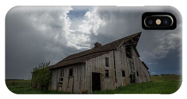 Middle Of Nowhere iPhone Case - Weathered 2 by Aaron J Groen
