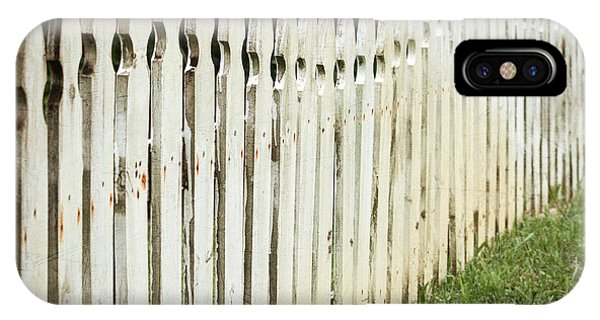 Weathered Fence IPhone Case