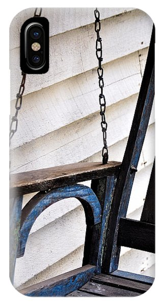 Weathered Porch Swing IPhone Case