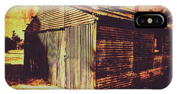 Old Houses iPhone Case - Weathered Vintage Rural Shed by Jorgo Photography - Wall Art Gallery