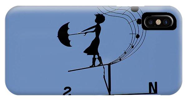 Weathergirl IPhone Case