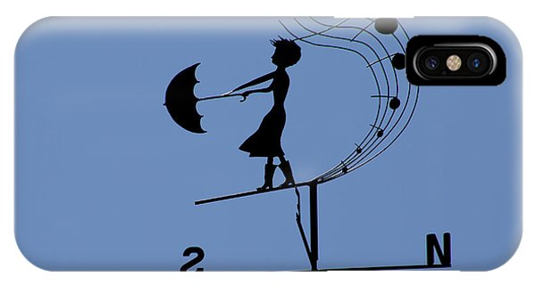 Weathergirl IPhone Case