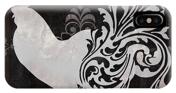 Rooster iPhone Case - Weathervane I by Mindy Sommers