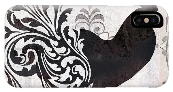 Rooster iPhone Case - Weathervane II by Mindy Sommers