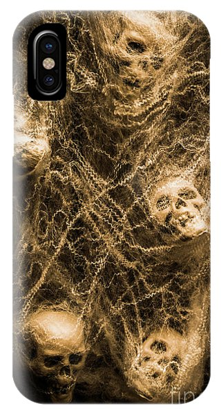 Anatomy iPhone Case - Web Of Entrapment by Jorgo Photography - Wall Art Gallery