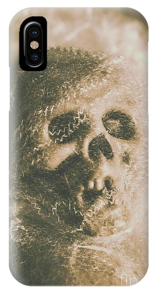 Anatomy iPhone Case - Webs And Dead Heads by Jorgo Photography - Wall Art Gallery