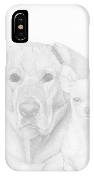 Webster And Lulu IPhone Case